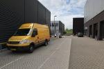 de achterzijde van het ANWB gebouw in Ypenburg
