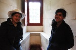 Adrita en Runa in Chateau de Josselin