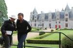 Adrita en Runa bij Chateau de Josselin