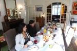 Ontbijt in een Chambre d'hote