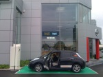 Snelladen bij Nissan in Brussel