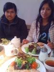 Heerlijke lunch in Brussel